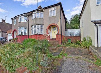 Thumbnail 3 bed semi-detached house for sale in Merewood Road, Barnehurst, Kent