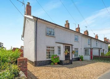 Thumbnail 4 bedroom end terrace house for sale in Watton, Thetford, .