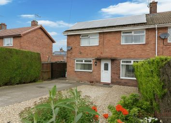 Thumbnail 3 bed semi-detached house for sale in Ambleside, New Ollerton, Newark