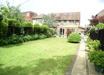 Thumbnail 3 bed semi-detached house for sale in Burwood Road, Hersham, Walton-On-Thames