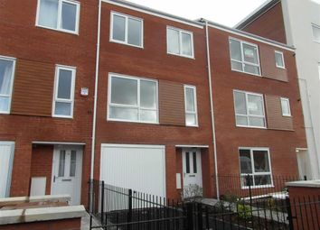 Thumbnail 4 bed town house to rent in Guide Post Road, Ardwick, Manchester