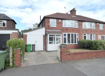 St. Chads Road, Withington, Manchester M20. 3 bed semi-detached house