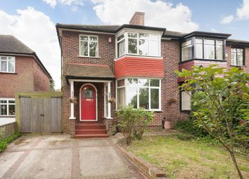Thumbnail 4 bed semi-detached house to rent in Plum Lane, London