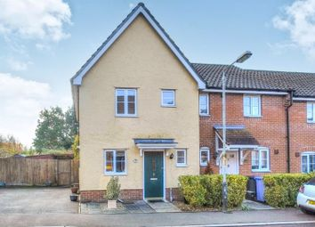 Thumbnail 2 bed end terrace house for sale in Weatherby Road, Norwich