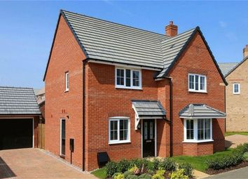 Thumbnail 4 bed detached house for sale in Hornbeam Row, Brixworth, Northampton