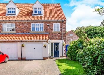 Thumbnail 4 bed end terrace house for sale in Fieldside Court, Church Fenton, Tadcaster