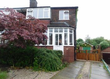 Thumbnail 3 bedroom semi-detached house for sale in Hollins Green Road, Marple, Stockport