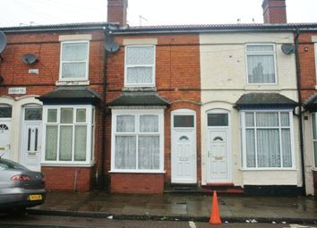 Thumbnail 2 bedroom terraced house for sale in Gough Road, Greet, Birmingham