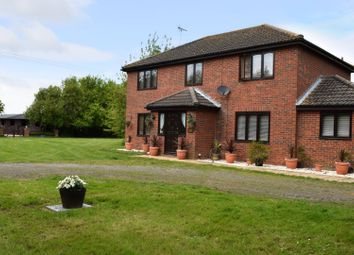 Thumbnail 4 bed detached house for sale in South Drove, Quadring, Spalding