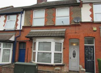 Thumbnail 4 bed terraced house to rent in High Town Road, Luton, Bedfordshire