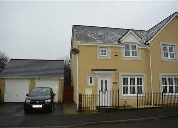 Thumbnail 3 bed semi-detached house for sale in Gelli Deg, Fforestfach, Swansea
