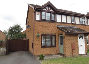 Thumbnail 2 bed semi-detached house for sale in Trafalgar Way, Glen Parva, Leicester