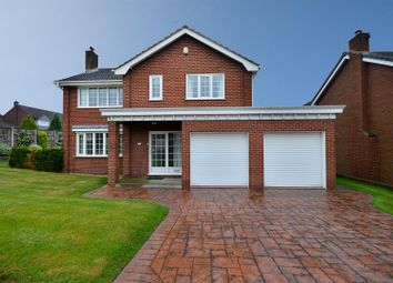 Thumbnail 5 bed detached house for sale in Normanton Close, Edwinstowe, Mansfield