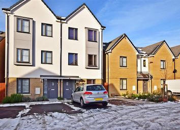 Thumbnail 4 bed town house for sale in Resevoir Way, Hainault, Ilford, Essex