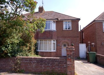 Thumbnail 3 bed semi-detached house to rent in Sancroft Road, Eastbourne
