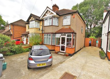Thumbnail 3 bed semi-detached house to rent in Elmside Road, Wembley, Middlesex