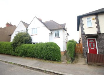 Thumbnail 3 bed semi-detached house for sale in Regent Street, Oadby, Leicester