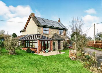 Thumbnail 3 bed detached house for sale in Greenfields, Wanstrow, Shepton Mallet