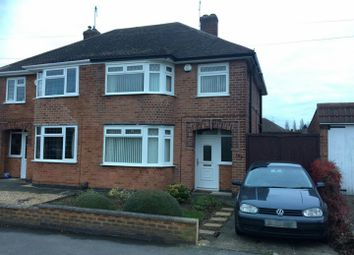 Thumbnail 3 bed semi-detached house to rent in Kingsway, Braunstone, Leicester