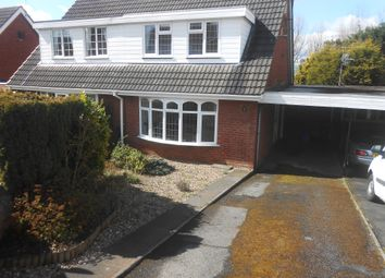 Thumbnail 2 bed semi-detached house to rent in Grampian Road, Stourbridge