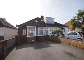 Thumbnail 3 bedroom semi-detached bungalow for sale in Edgar Crescent, Fareham