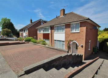 Thumbnail 4 bed semi-detached house for sale in Everard Way, Lakeside, Cardiff