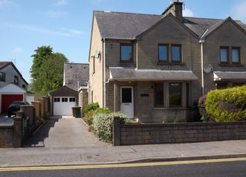 Thumbnail 3 bed semi-detached house for sale in Hay Street, Elgin