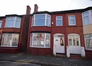 Thumbnail 3 bed semi-detached house to rent in Carrington Road, Wallasey, Wirral