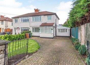 Thumbnail 3 bed semi-detached house for sale in Whinney Grove West, Maghull, Liverpool, Merseyside