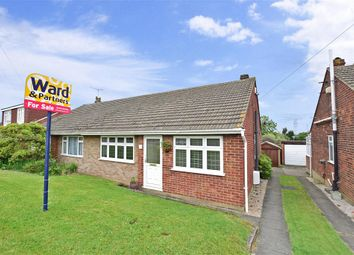 Thumbnail 2 bed semi-detached bungalow for sale in Lesley Close, Istead Rise, Kent