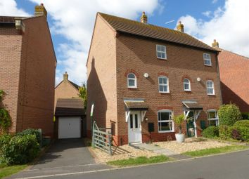 Thumbnail 3 bedroom semi-detached house for sale in East Water Crescent, Hampton Vale, Peterborough