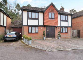Thumbnail 4 bed detached house for sale in Oakside Lane, Horley
