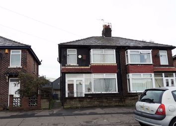 Thumbnail 3 bed semi-detached house for sale in Lees Street, Abbey Hey, Manchester