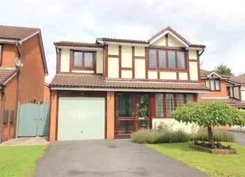 Thumbnail 4 bedroom detached house for sale in Lucerne Road, Oakwood, Derby