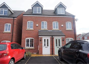 Thumbnail 3 bed town house for sale in Storey Road, Disley