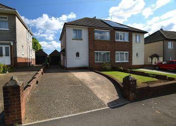 Thumbnail 3 bed semi-detached house for sale in Heol Uchaf, Rhiwbina, Cardiff.