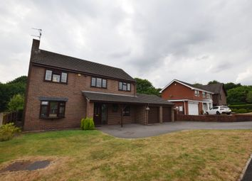 Thumbnail 4 bed detached house to rent in Forest Close, Newcastle-Under-Lyme