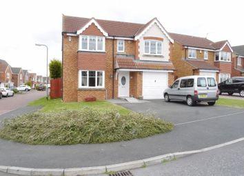 Thumbnail 4 bed detached house for sale in Nottingham Court, Bedlington