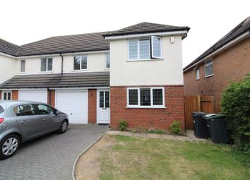 Thumbnail 5 bed semi-detached house for sale in Shervington Grove, Luton