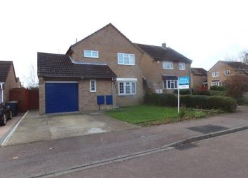Thumbnail 3 bed detached house for sale in Elmsdale Road, Bedford, Bedfordshire
