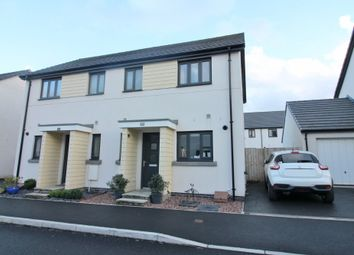 Thumbnail 2 bed semi-detached house for sale in Westleigh Way, Plymouth