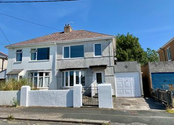 Thumbnail 3 bed semi-detached house for sale in Quarry Park Road, Plymstock, Plymouth