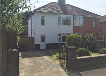 Thumbnail 3 bed semi-detached house to rent in Grange Avenue, Little Stoke, Bristol