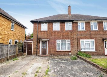 Thumbnail 3 bed semi-detached house for sale in Maygoods Lane, Cowley, Uxbridge
