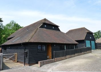 Thumbnail 4 bed barn conversion to rent in Edenbridge, Kent