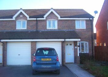 Thumbnail 3 bed semi-detached house to rent in Herbert Thomas Way, Birchgrove, Swansea