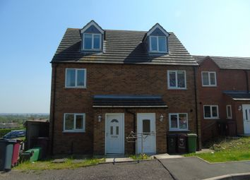 Thumbnail 3 bed semi-detached house to rent in Haworth Close, Mickley, Alfreton