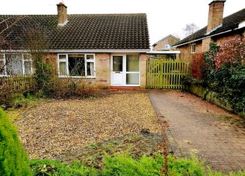 Thumbnail 2 bed semi-detached bungalow for sale in Grange Drive, Melton Mowbray