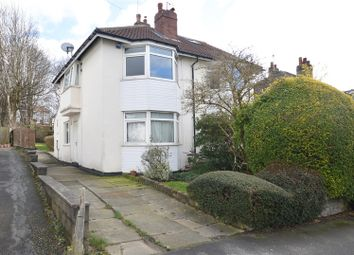 Thumbnail 3 bedroom semi-detached house for sale in Church Avenue, Meanwood, Leeds