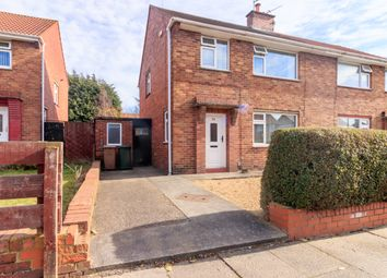 Thumbnail 3 bed semi-detached house for sale in Rothbury Gardens, Wallsend